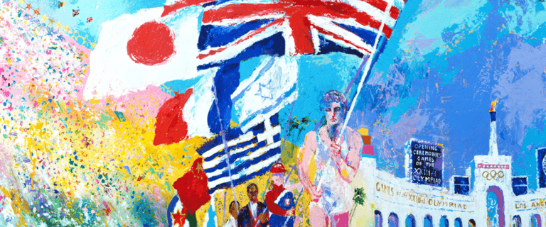 Courtesy of The LeRoy Neiman and Janet Byrne Neiman Foundation