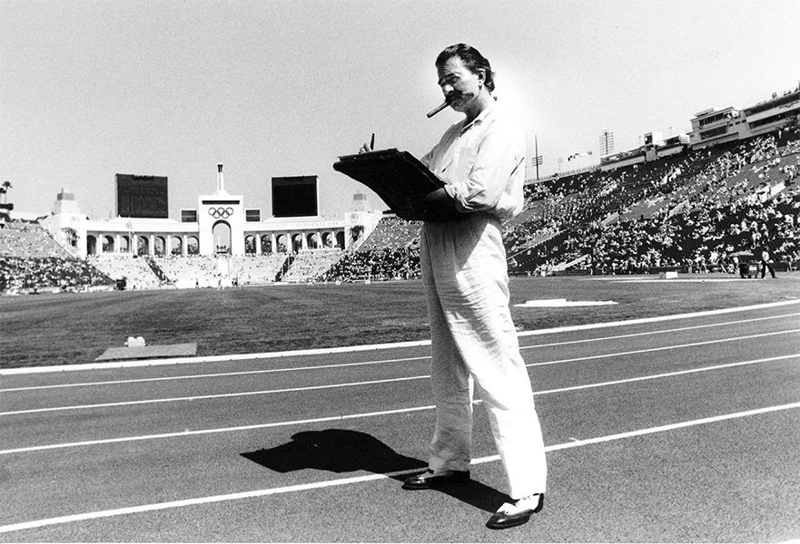 Leroy Neiman - The Olympic Painter