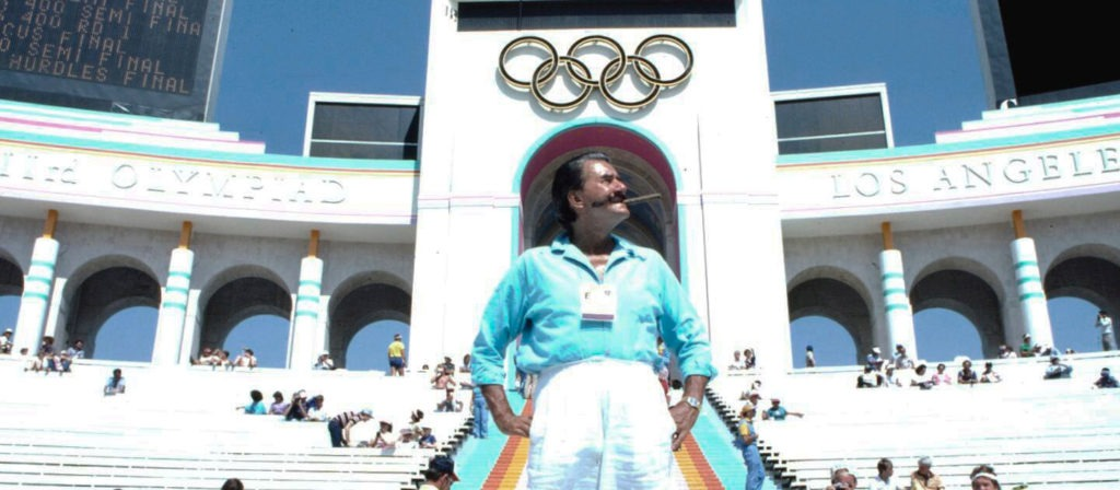 LeRoy Neiman - Official painter of five Olympic Games