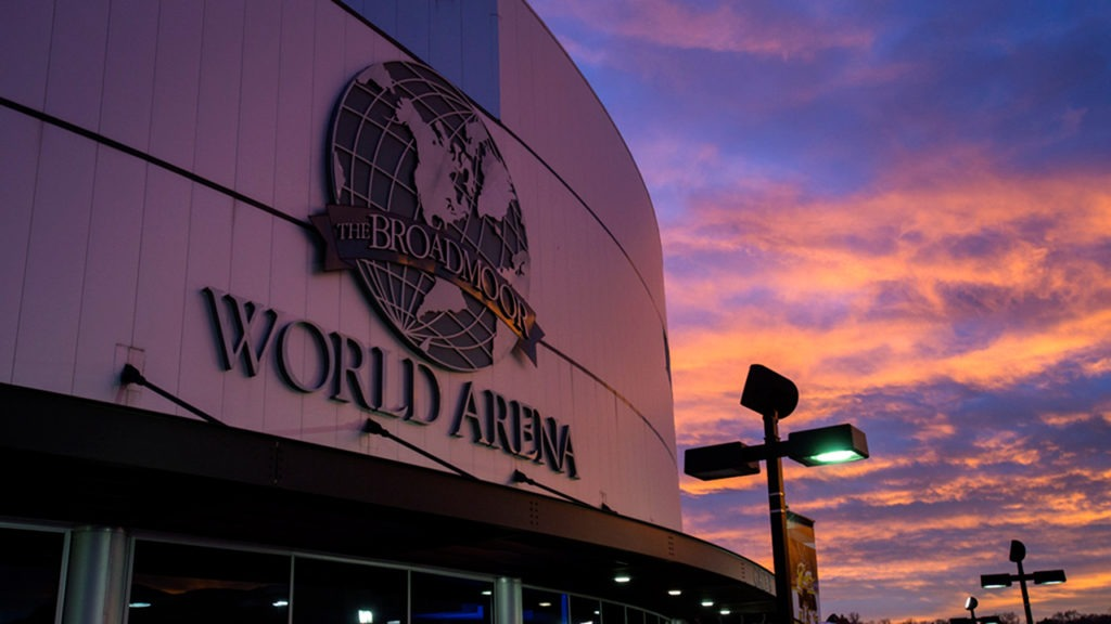 Catch a game or concert at the Broadmoor World Arena