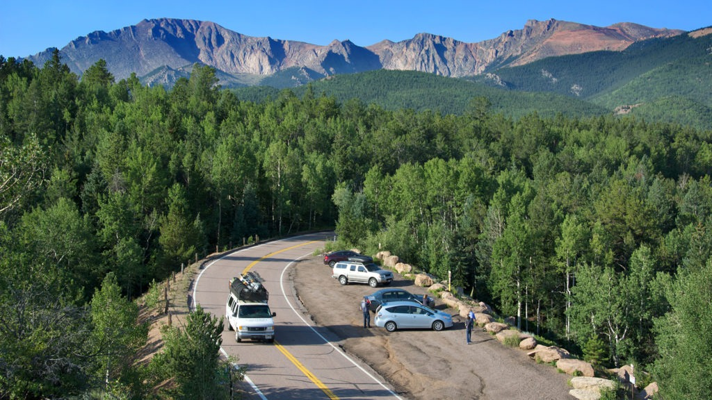 Get to the summit of Pikes Peak