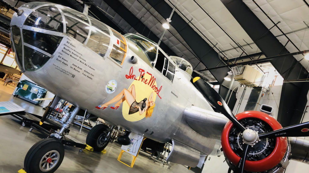 Fly away at the National Museum of WWII Aviation in Colorado Springs