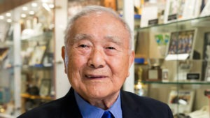 Yosh Uchida is one of the founders of judo and the highest ranked judoka in the U.S.