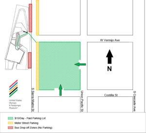 USOPM Parking Map