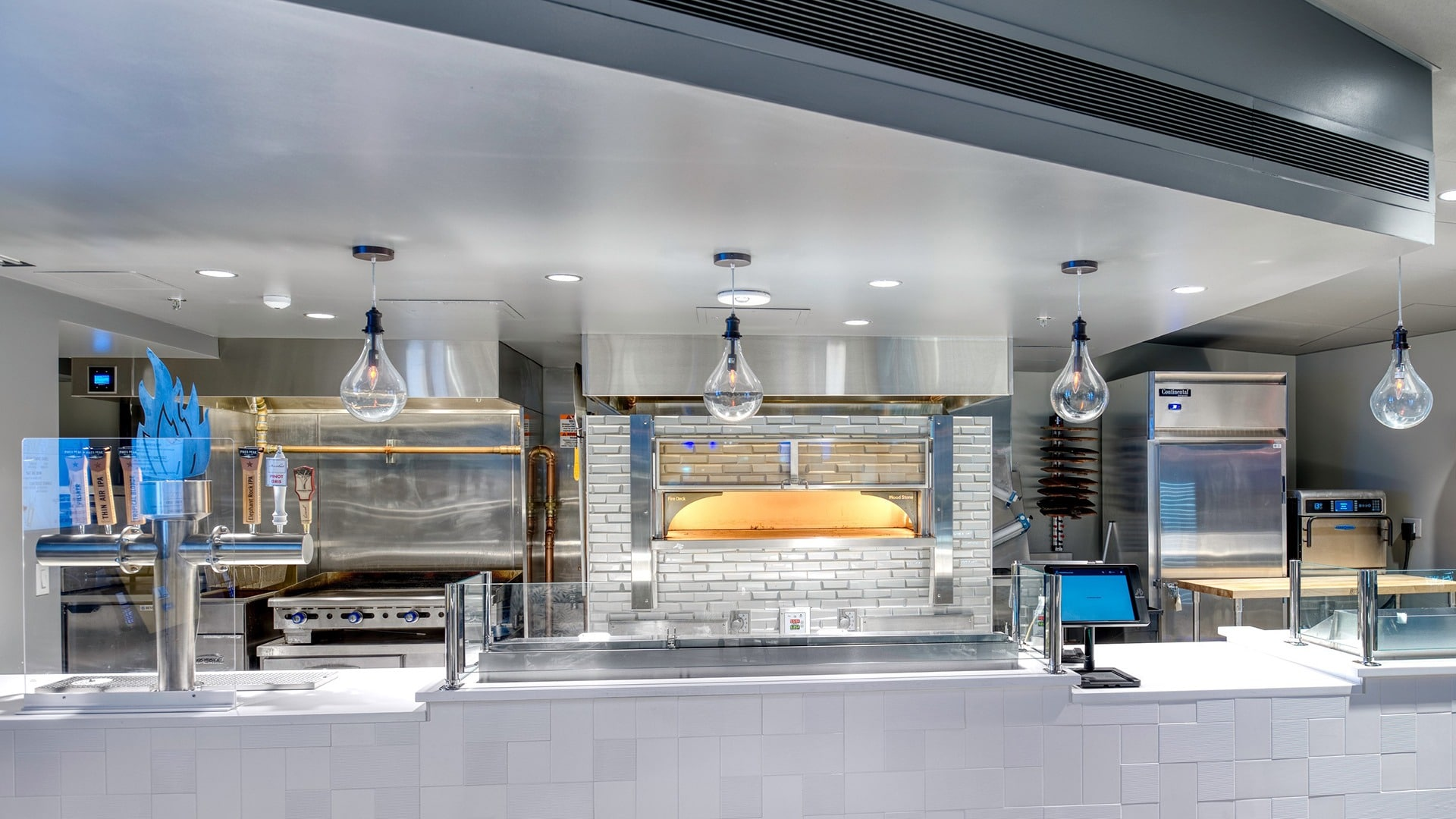 A look at The Flame Cafe kitchen