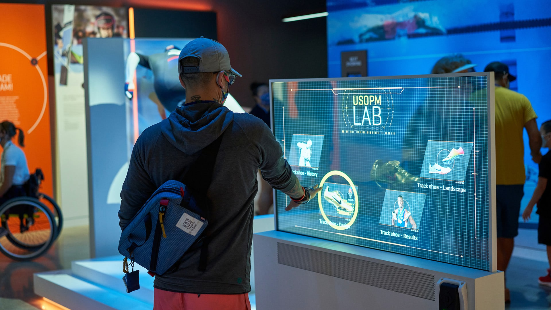The Lab - Interactive Exhibits at the U.S. Olympic & Paralympic Museum
